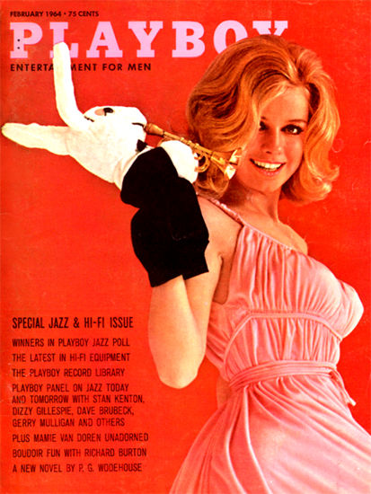 Cynthia Maddox Playboy Magazine 1964-02 Copyright Sex Appeal | Sex Appeal Vintage Ads and Covers 1891-1970