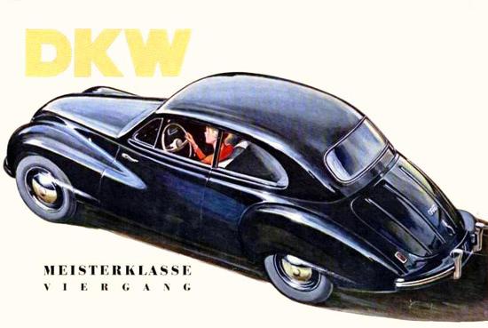 DKW Meisterklasse Viergang 1950 | Vintage Cars 1891-1970