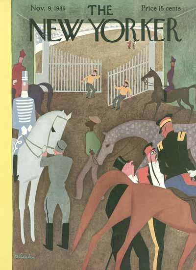Daniel Alain Brustlein The New Yorker 1935_11_09 Copyright | The New Yorker Graphic Art Covers 1925-1945