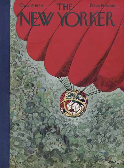 Daniel Alain Brustlein The New Yorker 1944_12_16 Copyright | The New Yorker Graphic Art Covers 1925-1945