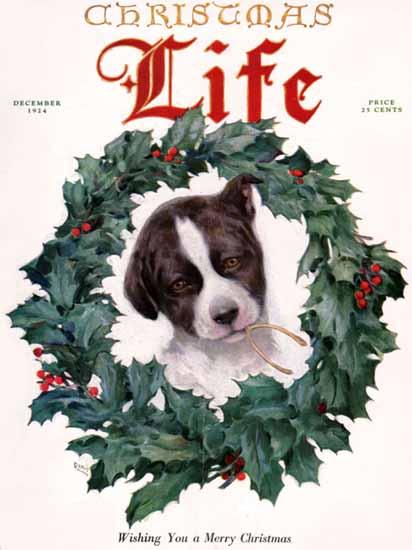 Davis Life Humor Magazine 1924-12 Copyright | Life Magazine Graphic Art Covers 1891-1936