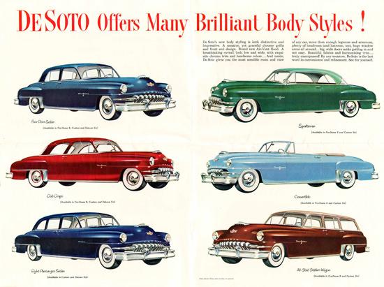 DeSoto 1952 Conv Sportsman Station Wagon | Vintage Cars 1891-1970