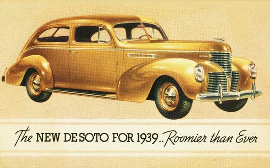 DeSoto 2 Door Sedan 1939 | Vintage Cars 1891-1970