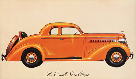 DeSoto Airstream Rumble Seat Coupe 1935 | Vintage Cars 1891-1970