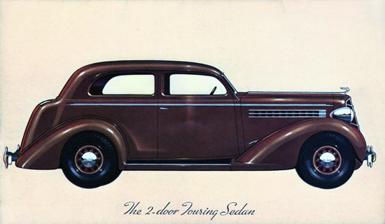 DeSoto Airstream Touring Sedan 1935 | Vintage Cars 1891-1970