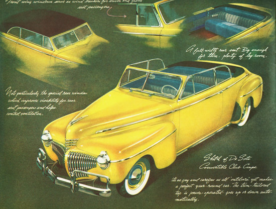 DeSoto Convertible Club Coupe 1941 | Vintage Cars 1891-1970