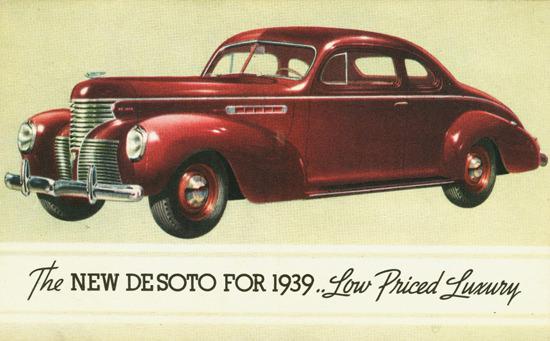 DeSoto Coupe 1939 | Vintage Cars 1891-1970