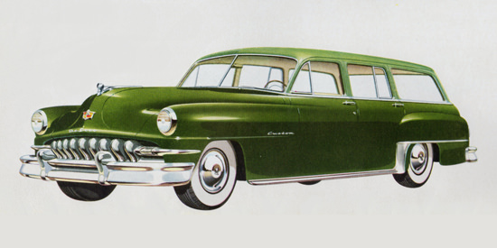 DeSoto Custom All Steel Station Wagon 1951 | Vintage Cars 1891-1970