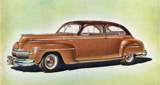 DeSoto Custom Brougham 1942 | Vintage Cars 1891-1970