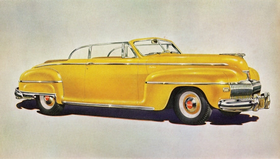 DeSoto Custom Convertible Club Coupe 1942 | Vintage Cars 1891-1970