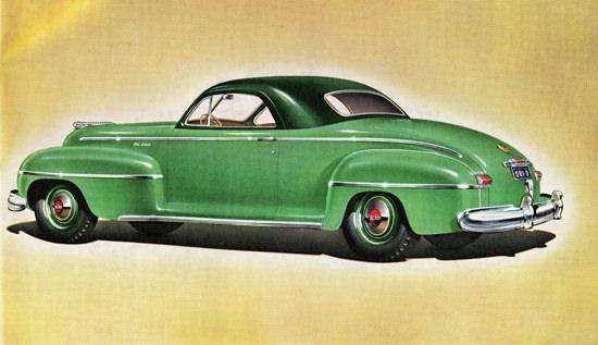DeSoto De Luxe Business Coupe 1942 | Vintage Cars 1891-1970