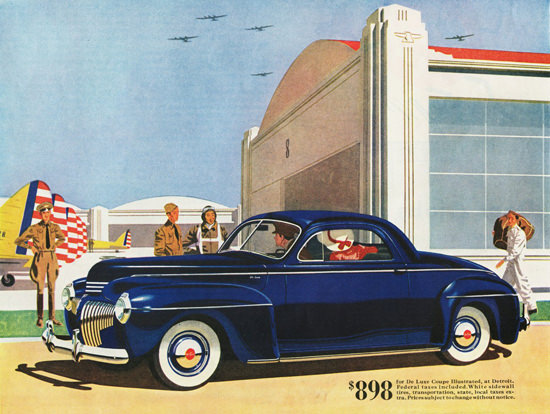 DeSoto DeLuxe Coupe 1941 | Vintage Cars 1891-1970