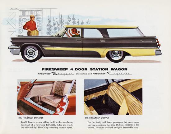 DeSoto FireSweep Shopper Station 1957 | Vintage Cars 1891-1970
