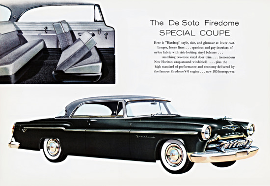 DeSoto Firedome 185 HP Special Coupe 1955 | Vintage Cars 1891-1970