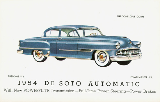 DeSoto Firedome Club Coupe 1954 | Vintage Cars 1891-1970