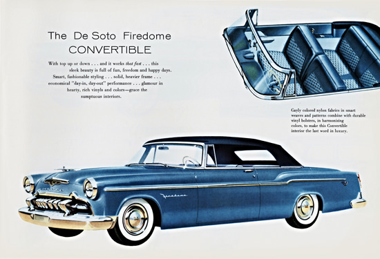 DeSoto Firedome Convertible 1955 Day In Day Out | Vintage Cars 1891-1970