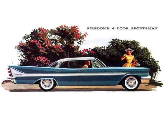 DeSoto Firedome Sportsman 1958 Ad | Vintage Cars 1891-1970