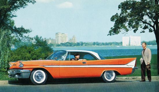 DeSoto Firedome Sportsman 1958   Vintage Cars 1891-1970