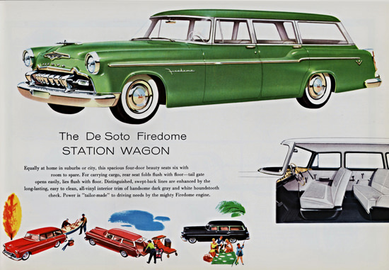 DeSoto Firedome Station 1955 Tailor Made | Vintage Cars 1891-1970
