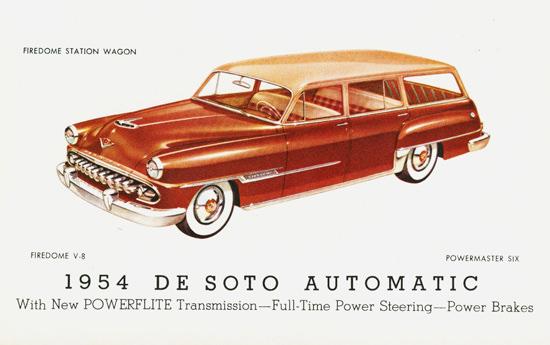 DeSoto Firedome Station Wagon 1954 | Vintage Cars 1891-1970