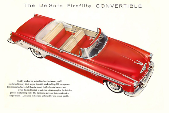 DeSoto Fireflite Convertible 1955 | Vintage Cars 1891-1970