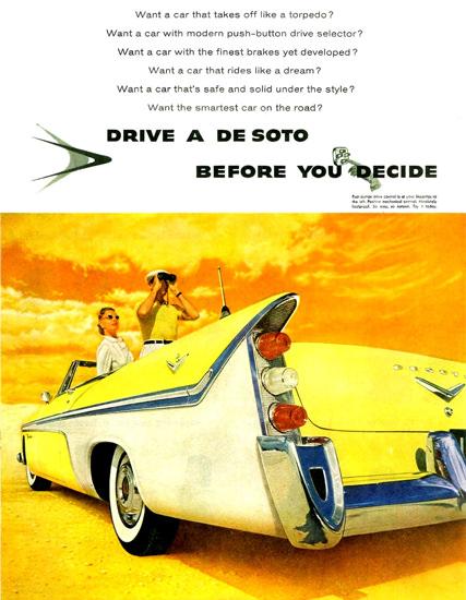 DeSoto Fireflite Convertible 1956 | Vintage Cars 1891-1970