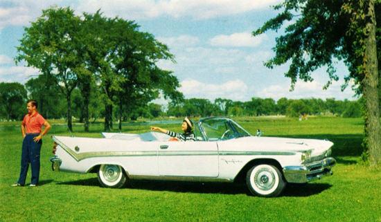 DeSoto Fireflite Convertible 1959 White | Vintage Cars 1891-1970
