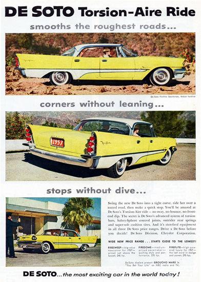 DeSoto Fireflite Sportsman 1957 Torsion | Vintage Cars 1891-1970