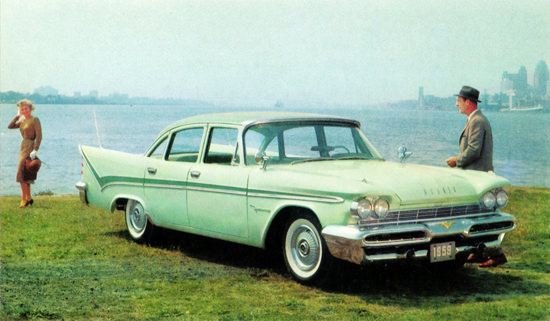 DeSoto Firesweep Sedan 1959 Green | Vintage Cars 1891-1970