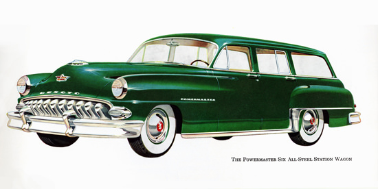 DeSoto Powermaster All Steel Station 1953 | Vintage Cars 1891-1970