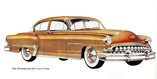 DeSoto Powermaster Six Club Coupe 1953 | Vintage Cars 1891-1970