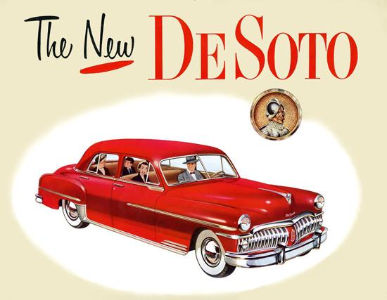 DeSoto Red | Vintage Cars 1891-1970