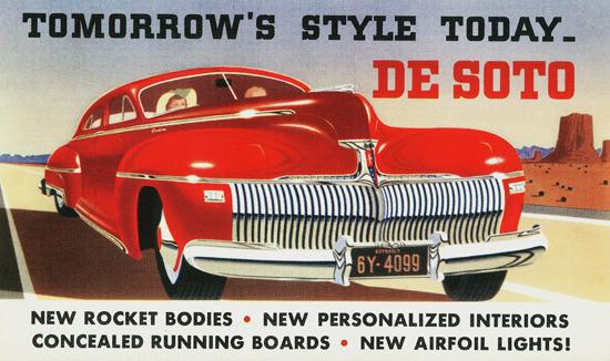 DeSoto Rocket Body 1942 | Vintage Cars 1891-1970