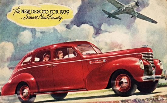 DeSoto Sedan 1939 Smart New Beauty | Vintage Cars 1891-1970