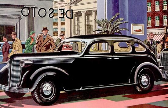 DeSoto ShowCase Black | Vintage Cars 1891-1970