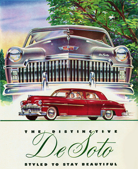DeSoto Styled To Stay Beautiful | Vintage Cars 1891-1970