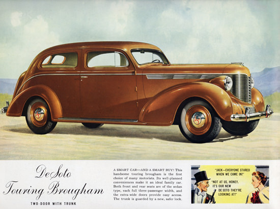 DeSoto Touring Brougham Trunk 1938 | Vintage Cars 1891-1970