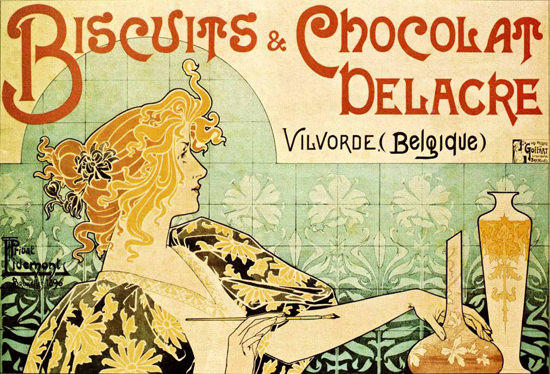 Delacre Biscuits Chocolat Vilvorde Belgique | Sex Appeal Vintage Ads and Covers 1891-1970