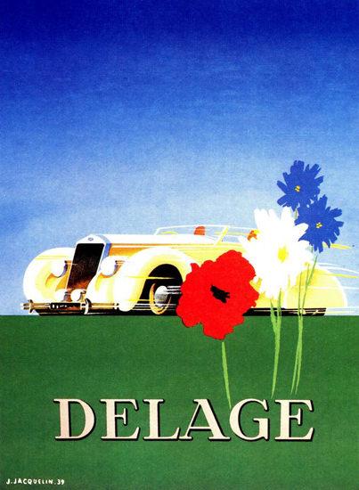 Delage 1939 | Vintage Cars 1891-1970