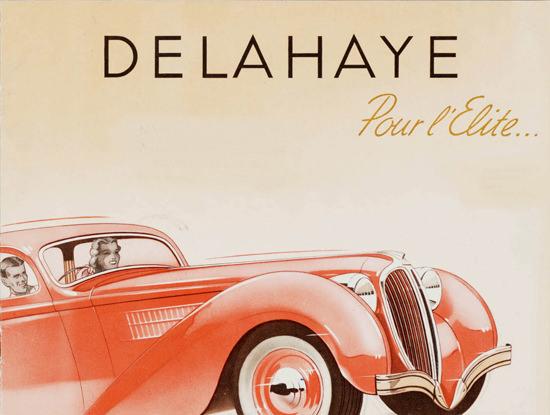 Delahaye 1938 Pour L Elite | Vintage Cars 1891-1970