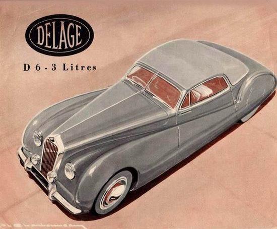 Delahaye 1948 | Vintage Cars 1891-1970