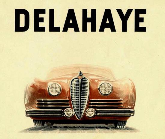 Delahaye Front 1947 | Vintage Cars 1891-1970