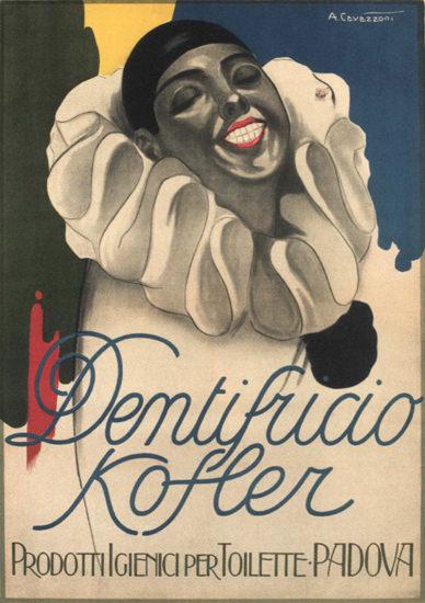 Dentifricio Kofler Padova Italy Italia | Sex Appeal Vintage Ads and Covers 1891-1970