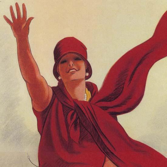 Detail Of Agfa Film Germany Deutschland 1930s | Best of Vintage Ad Art 1891-1970
