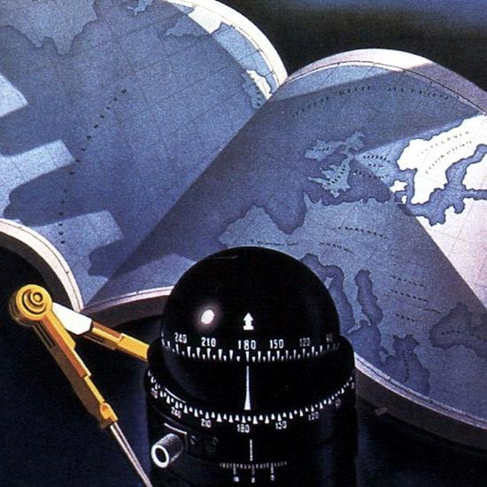Detail Of Ala Littoria 1939 B | Best of Vintage Ad Art 1891-1970