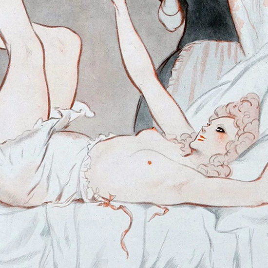 Detail Of Armand Vallee La Vie Parisienne 1923 Fragonard page B | Best of 1920s Ad and Cover Art