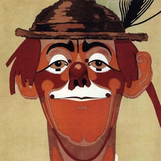Detail Of Bier Cabaret Passage Paul Goldler 1914 Germany | Best of Vintage Ad Art 1891-1970