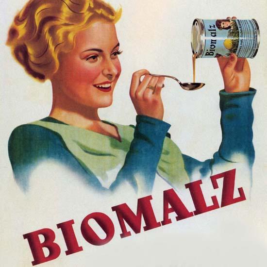 Detail Of Biomalz Gibt Kraft für Jung Und Alt Austria | Best of Vintage Ad Art 1891-1970