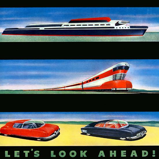 Detail Of Bohn Aluminium Ship Train Cars | Best of Vintage Ad Art 1891-1970