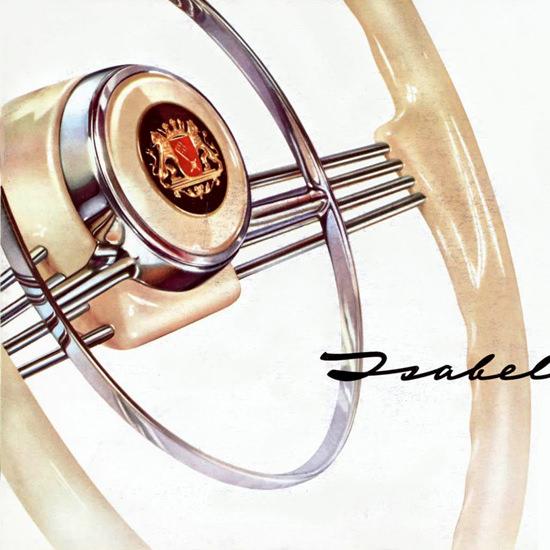 Detail Of Borgward Isabella 1959 | Best of Vintage Ad Art 1891-1970